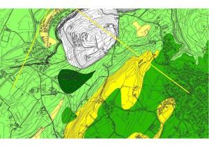 figura 2: carta microzonazione sismica