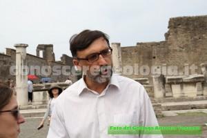 sito archeologico di Pompei, il Prof. Scarpati