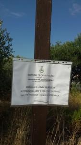 Cartello di divieto, Ordinanza Comunale