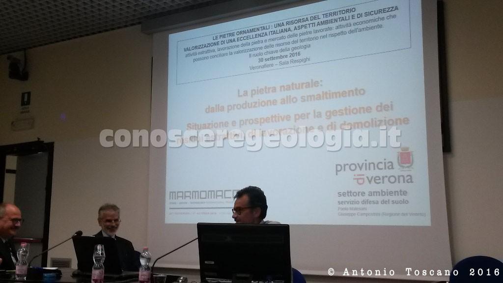 Marmomacc 2016 Verona, Dr. Paolo MALESANI