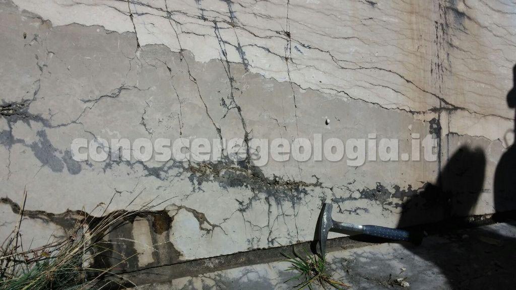 Geologi alla geo-escursione nel Matese sannitico-molisano, parco geopaleontologico di Pietraroja
