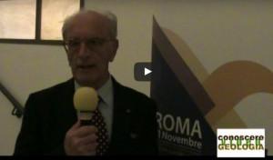Il Presidente del SINGEOP, Geologo Guglielmo Emanuele