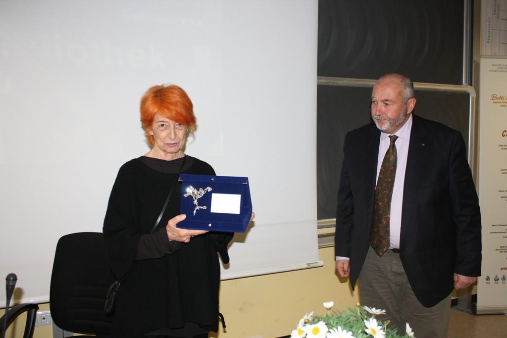 Premiazione a Franca Ferrari