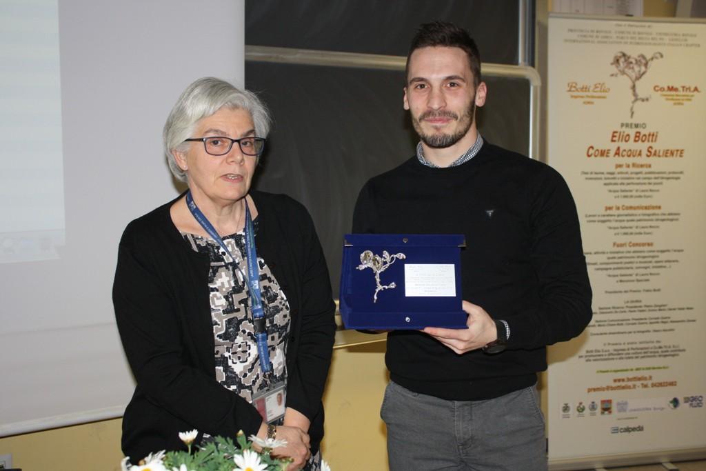 Premiazione a Nico Dalla Libera
