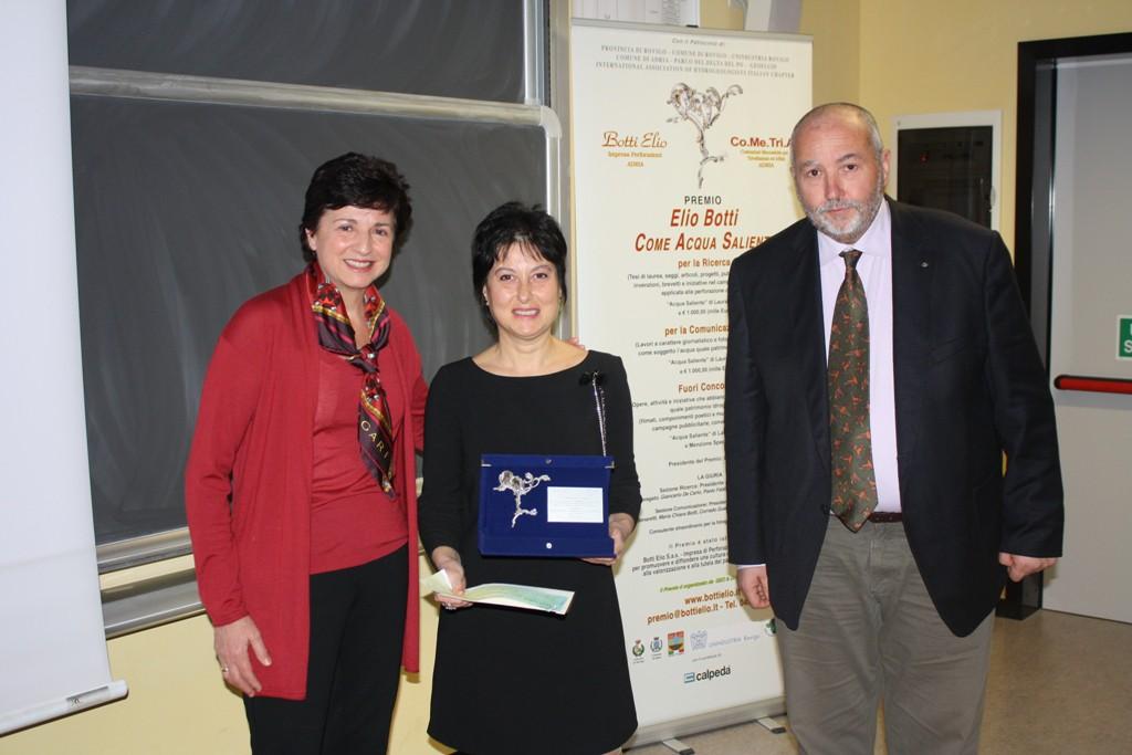 Premiazione a Manuela Campanelli