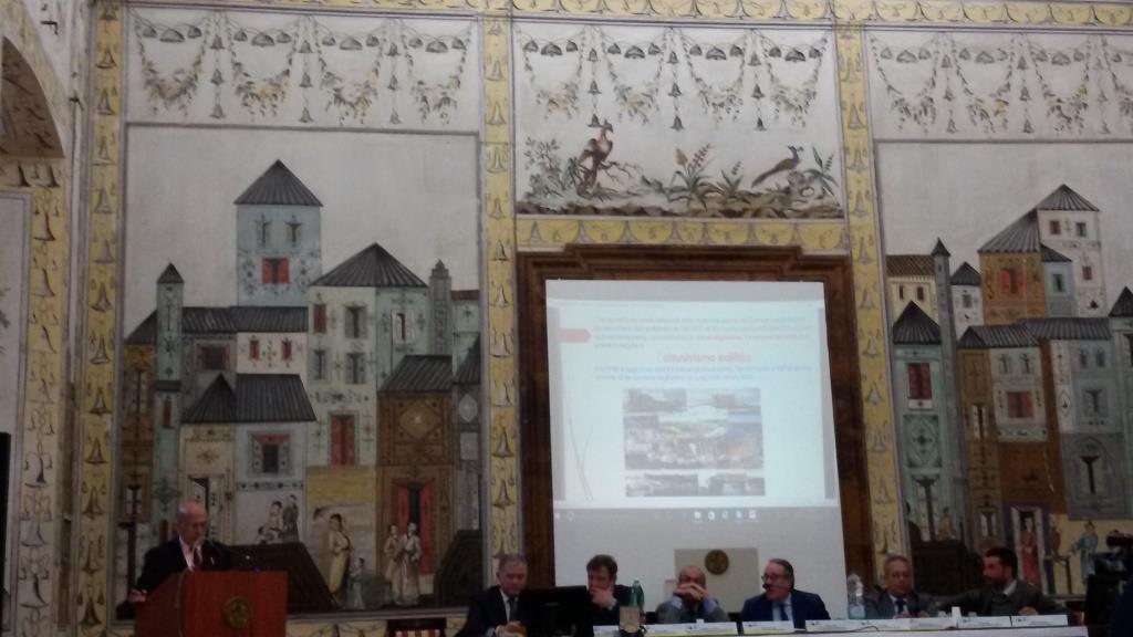 1 - Intervento del Presidente dell'Ordine dei Geologi della Campania, dr. F. Russo