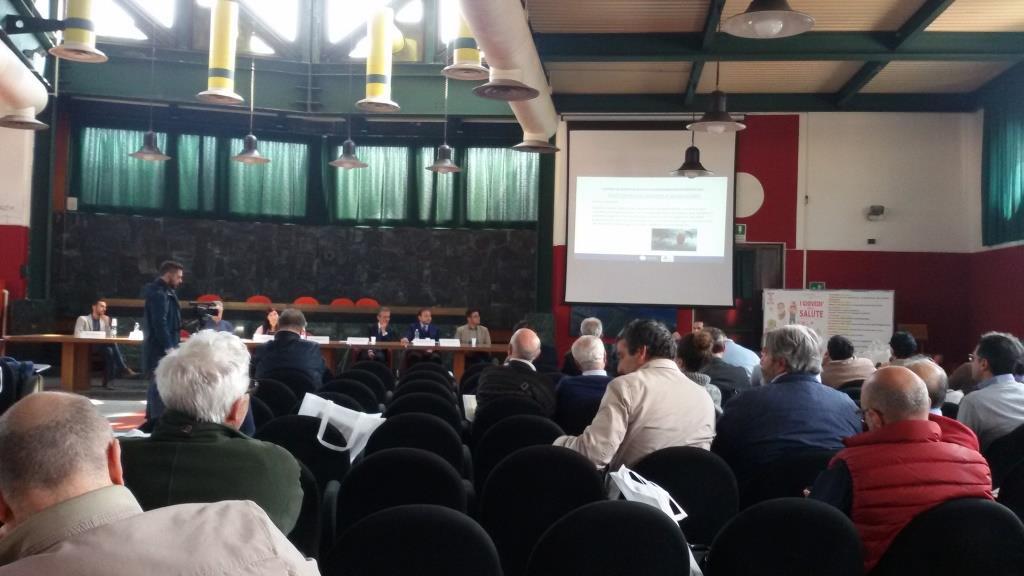Sala consiliare Comune di Baronissi (Salerno) Seminario sulla figura di Addetto ai Sistemi di Accesso e Posizionamento mediante funi