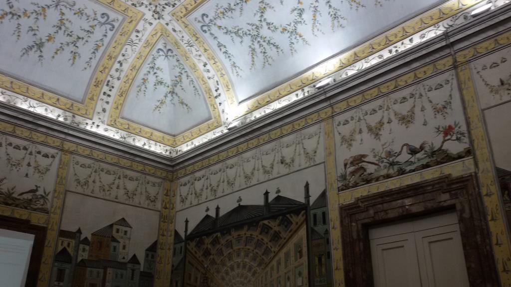 3 - Dipinti della volta e delle pareti dellaSala Cinese
