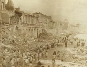 Foto 1 - Terremoto e Maremoto, Messina 1908