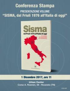Locandina presentazione Libro Sisma