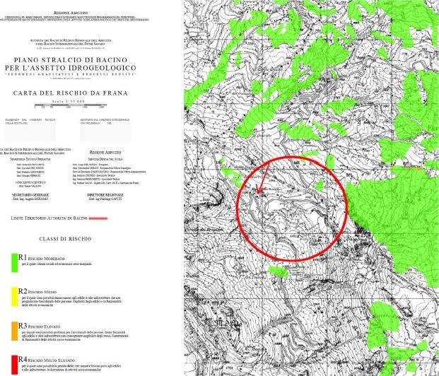 Piano Stralcio di Bacino per l'assetto Idrogeologico - Regione Abruzzo
