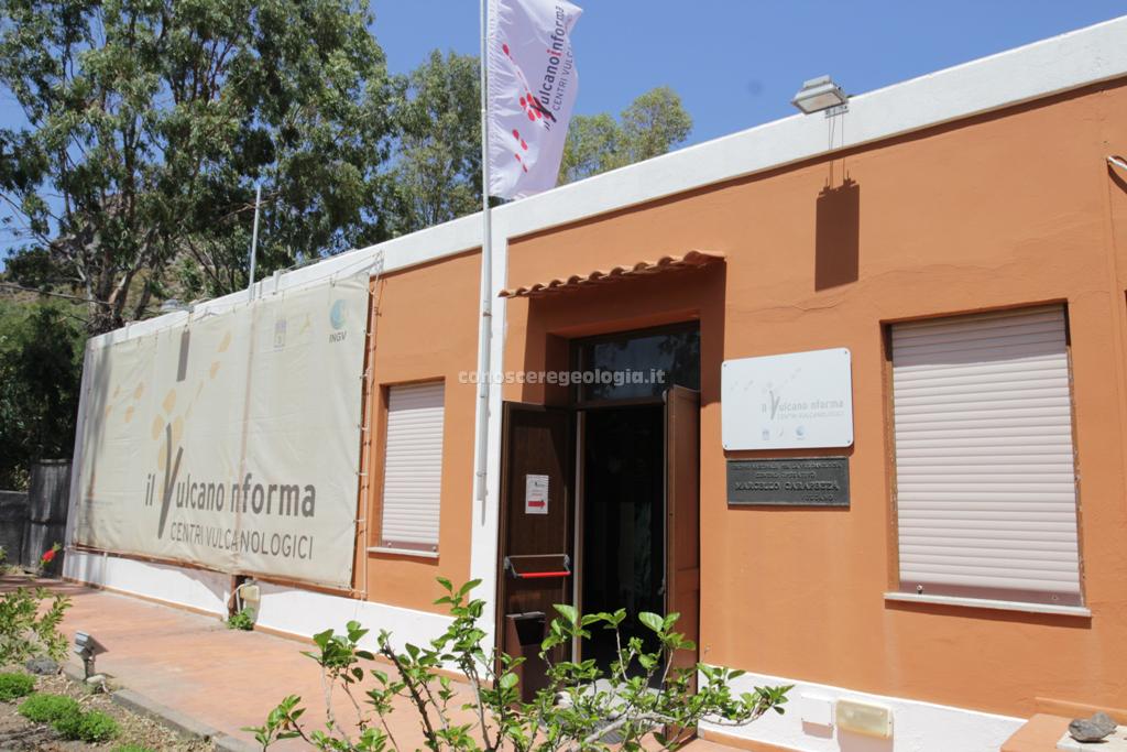 Il centro Operativo Vulcanologico dell' INGV Marcello Carapezza di Vulcano